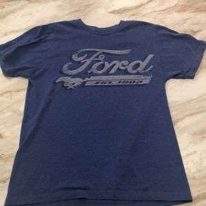 Ford Mustang Blue Shirt